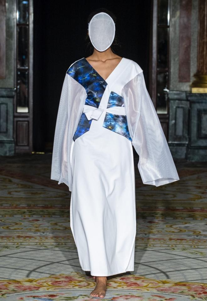 Noah Christian vestido blanco Made in Spain